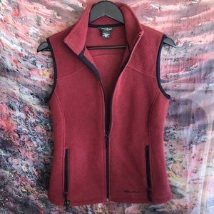 Like new Eddie Bauer fleece vest